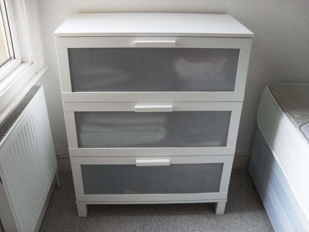 Schreibtisch Ikea Galant Buche ~ IKEA ANEBODA 3 drawer chest of drawers IKEA ANEBODA 3 drawer chest of