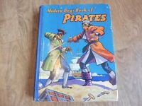 ANTIQUE MODERN BOYS BOOK OF PIRATES W E JONES