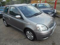 toyota yaris colour collection vvt-1 genuine 71000 miles