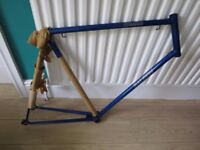 """RALEIGH RACER FRAME...STRATOS"""" NEW OLD STOCK.BARN FIND..24"""" LARGE FRAME..."""