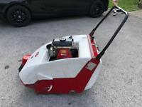 Petrol driven Path sweeper
