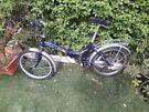 Folding bike, excellent condition