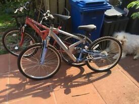 Mountain Bikes (His n Hers)
