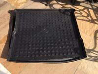 Mercedes ML rubber front and rear mats and Boot Mat