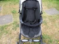 SILVER CROSS PRAM-PUSH-CHAIR IN VERY GOOD CONDITION