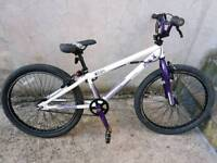Raleigh Max ST24 BMX 360 Gyro Purple And White. Rrp £150