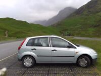 Reliable, well maintained Ford Fiesta, Low mileage