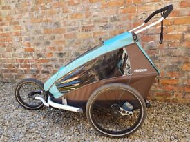 FOR SALE - Croozer Kid 2 PLUS, 3 in 1 cycle trailer, stroller and buggy