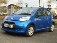 XMAS SALE!! 2011 CITROEN C1 VTR 1.0 *3 DR *STUNNING BLUE *LONG MOT *IDEAL FIRST CAR