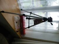 New Hama Alpha 60 Camera/Camcorder Tripod with Adjustable Legs