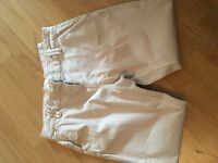 Women's beige chinos from next size 14p