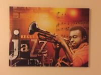 Decorative Jazz canvas