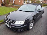 2006 Saab Convertable AUTO black
