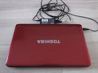 "Laptop Toshiba Satellite 15.6"" L750D-14R. Spare or repairs."