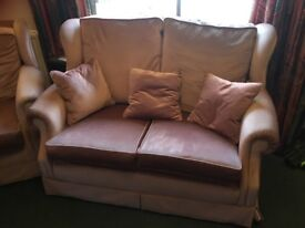2 seater sofa + 2 armchairs for quick sale.