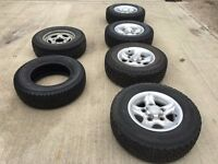 Land Rover Discovery Boost alloy wheels & tyres x 5