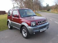 2006 56 SUZUKI JIMNY JLX + 3 DOOR 4X4 MOT APRIL 2018