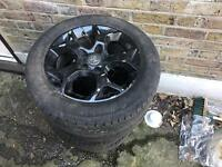 Vauxhall Astra, zafira, vectra, wheels with tyres for salr