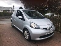 CHEAP RUNNER 2008 TOYOTA AYGO PLATINUM HALF LEATHER £20 TAX FULL SERVICE HISTORY