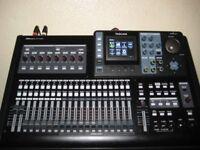 TASCAM DP32SD MULTI TRACK DIGITAL RECORDER