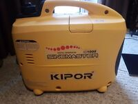 Kipor suitcase ig1000 generator ideal for boat camping etc