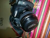 Canon 50D with 100mm 1.2