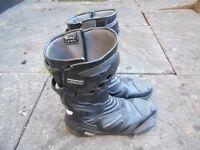 Nitro Motorbike Boots (Male Size 9)