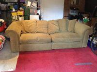 Large sofa settee