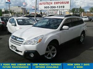 2013 Subaru Outback 3.6R Limited Pkg AWD Navigation/Leather/Sunr