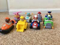 Paw Patrol racers - set of eight