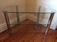 John Lewis Glass Television Stand