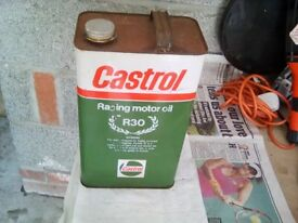 Castrol R 5 litre motor racing oil last one !