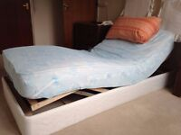 Sway action electric profile bed.