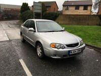 04 KIA SHUMA 1.6 1 OWNER 12 MOT 116K ICE COLD AIR CON LEATHER £495 NO OFFERS