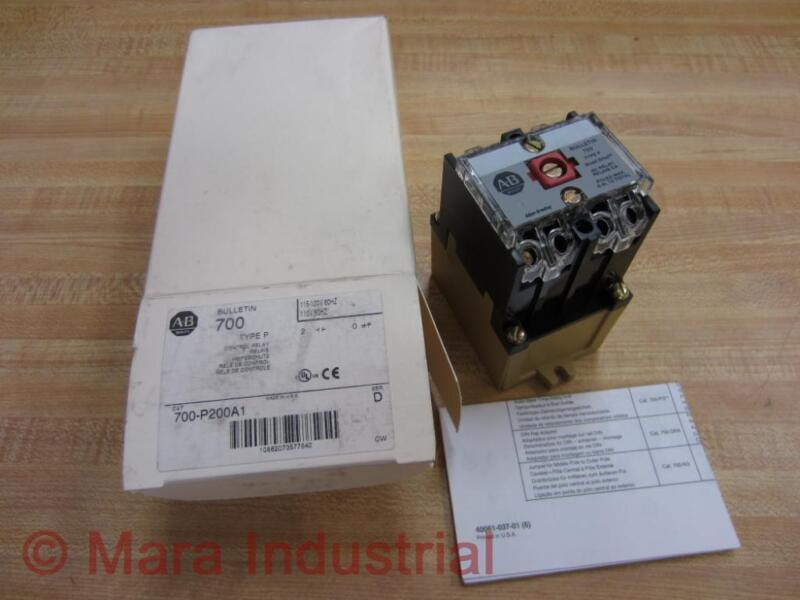 Allen Bradley 700-p200a1 Control Relay 700p200a1 (pack Of 3)