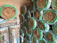 Earthwool loft insulation mixed sizes delivery available