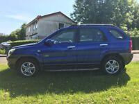 Kia Sportage 2.0 diesel 4wd ,,,,, mot and taxed ,,, £895