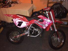Malaguti Grizzly Rx12 50cc Kids Bike Rev n Go