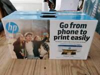 New HP Deskjet 3720 all-in-one Printer + spare Tri-Colour cartridge