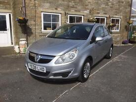 2008 VAUXHALL Corsa 1.0 3dr Genuine 53000 miles from new