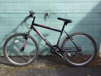 21' Men Mountain Ridge Serviced Mountain Bike + Lock