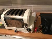 Four-slice toaster