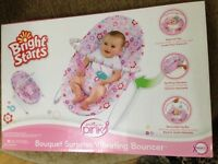 Baby Bouncer with vibrating motion