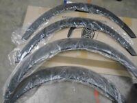 Universal car fender flare set and sheet Aluminium Mesh ''NEW''