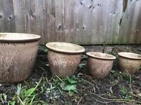 Clay Garden Pots
