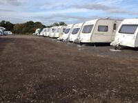 Gold Accredited Caravan storage for single & twin axle Caravans, Motorhomes, Boattrailers, RVs etc.