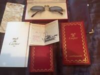 Genuine Cartier glasses
