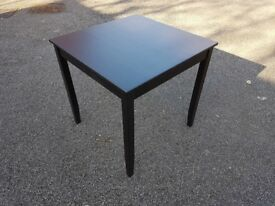 Ikea Black/Brown Square Dining Table 74cm FREE DELIVERY 017