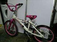 Girls bike 18 inch