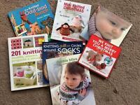Knitting Books - Christmas, Baby, Socks